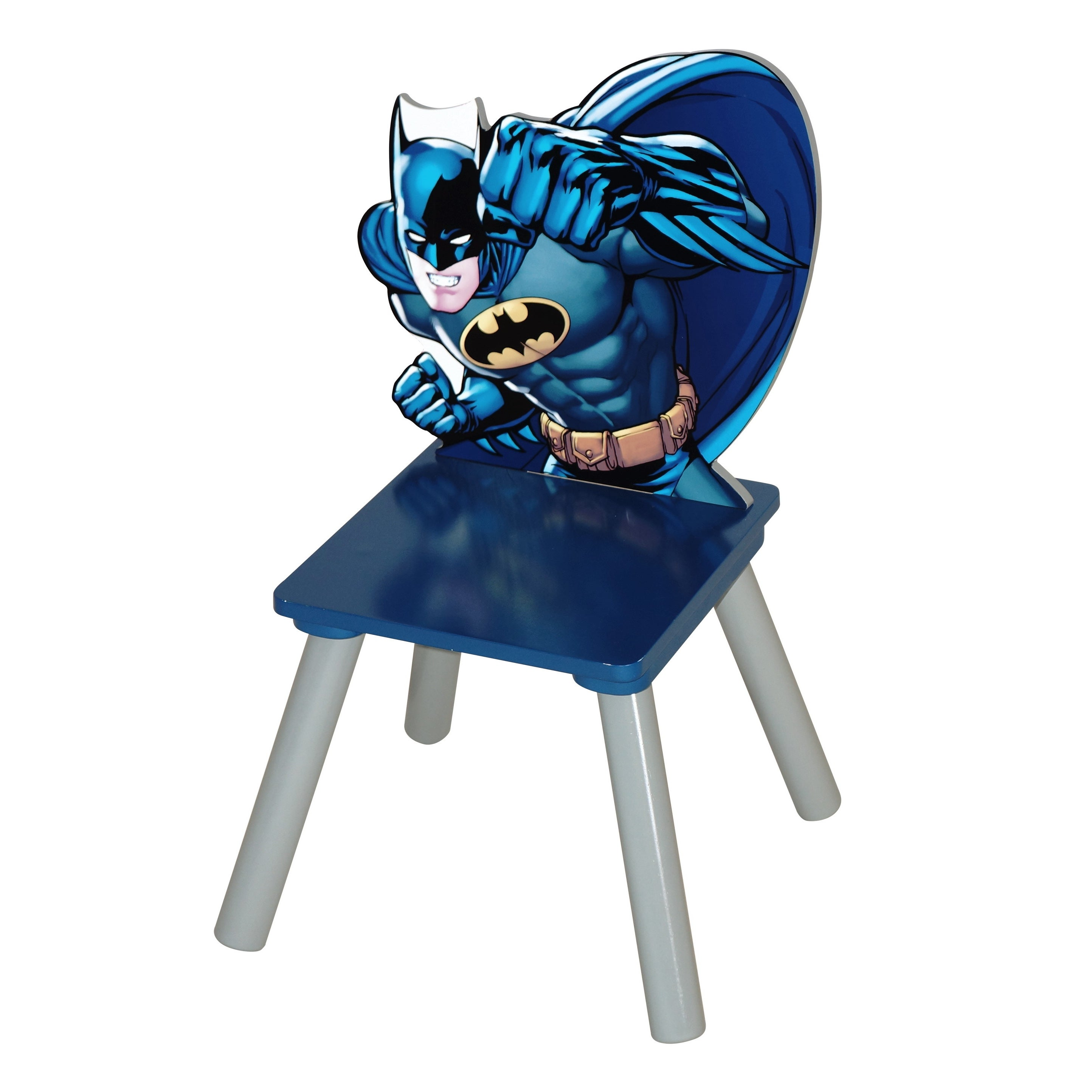 O'Kids 'Batman' Rubber and MDF Kids' Chair (Batman), Black