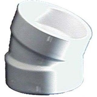 Genova Products 70830 3-inch Sch. 40 PVC-DWV 22.5-degree Elbows