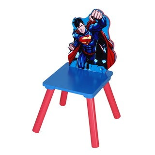 Superman Multicolored MDF/Rubber Kids Chair
