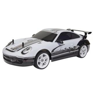 KidzTech Silver GT Racer Porsche Remote Control Car