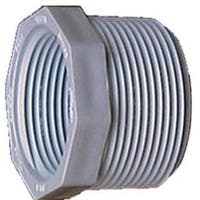 Genova Products 34350 1.5-inch x 1-inch PVC Sch. 40 Threaded Reducing Bushings