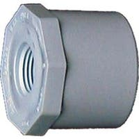 Genova Products 34257 1.5-inch x 3/4-inch PVC Sch. 40 Reducing Bushing