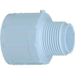 Genova Products 30477 1-inch x 3/4-inch PVC Reducing Male Adapter