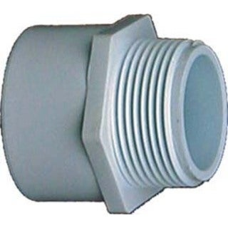 Genova Products 30420 2-inch PVC Sch. 40 Male Adapters