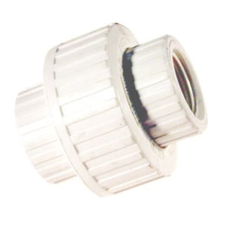 B And K Industries 164-137 PVC Schedule 80 Threaded Union 1.5-inch