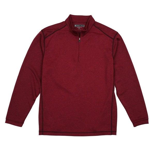 Pebble beach men 39 s performance tech 1 4 zip long sleeve for Pebble beach performance golf shirt