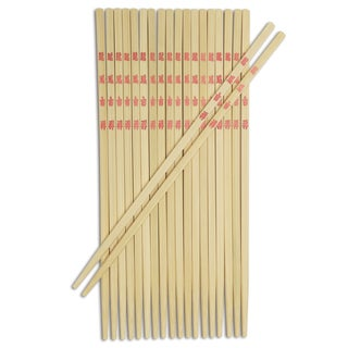 Joyce Chen J30-0043 9-inch Burnished Bamboo Table Chopsticks