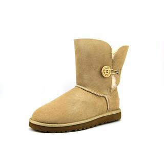 Ugg Australia Women's Bailey Button Tan Suede Boots
