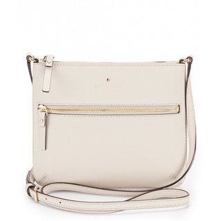 Kate Spade New York Cedar Street Market Tenley Beige Leather Crossbody Handbag