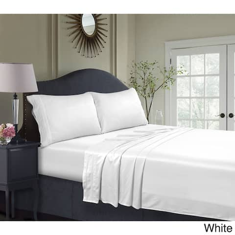 Rayon from Bamboo 300 Thread Count Extra Deep Pocket Bed Sheet Set