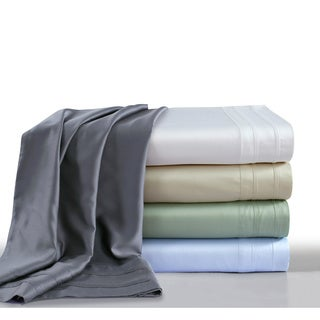 Rayon from Bamboo 300 Thread Count Sateen Pillowcase Set (Set of 2)