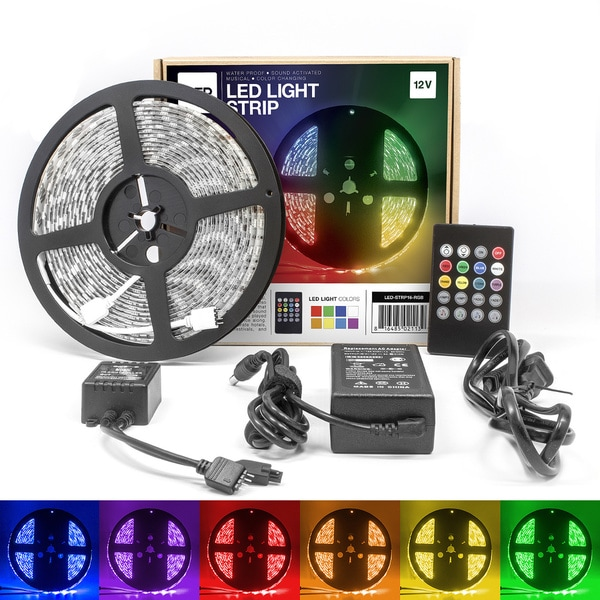 Shop LED Concepts 16.4-foot Colored LED Strip Rope Lights