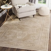 "Safavieh Vintage Oriental Cream Distressed Silky Viscose Rug - 3'3"" x 5'7"""