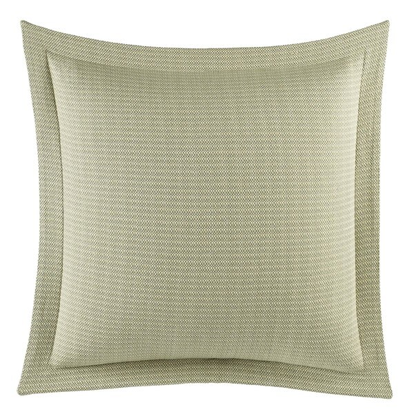 Tommy Bahama Cuba Cabana Green Cotton European Sham
