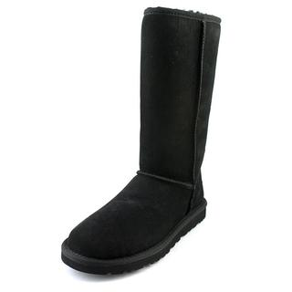 Ugg Australia Women's Classic Tall Black Regular Suede Boots
