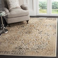 Safavieh Vintage Oriental Cream Distressed Silky Viscose Rug - 3' x 5'