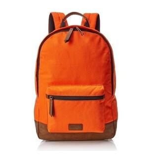 Fossil Estate Canvas Backpack - Orange
