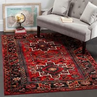 Safavieh Vintage Hamadan Traditional Red/ Multi Ru
