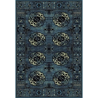 Safavieh Vintage Hamadan Blue / Multicolored Rug (3' x 5')