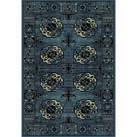 Safavieh Vintage Hamadan Traditional Blue/ Multicolored Rug - 3' x 5'