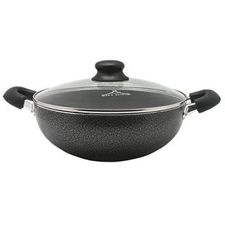 Wee's Black Aluminum 3-quart Non-stick Casserole Dish