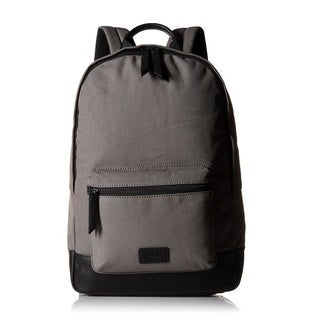 Fossil Estate Canvas Backpack - Grey