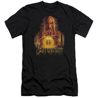 LOTR/Saruman Short Sleeve Adult T-Shirt 30/1 in Black