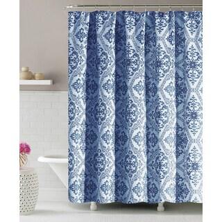 Intelligent Design Tiffany Blue Microfiber Printed Pieced