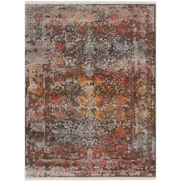 Safavieh Vintage Persian Brown/ Multi Distressed Rug (3' x 5')
