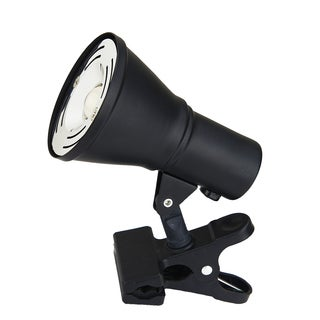 Catalina Lighting Tensor 20038-002 Black Metal/Plastic 4.75-inch Mini LED Clip Lamp