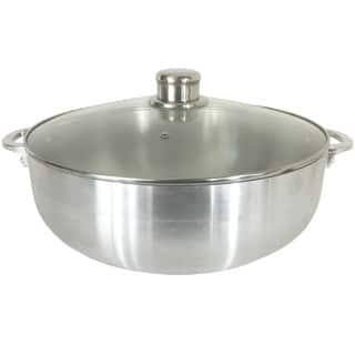 Wee's Beyond Aluminum 7.5-qt Caldero with Glass Lid|https://ak1.ostkcdn.com/images/products/12674277/P19460345.jpg?impolicy=medium