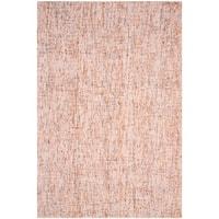 Safavieh Handmade Modern Abstract Beige / Rust Wool Rug - 6' x 9'