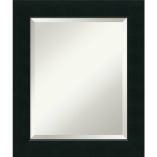 Bathroom Mirror Medium, Corvino Black