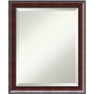 Bathroom Mirror Medium, Country Walnut 19 x 23-inch