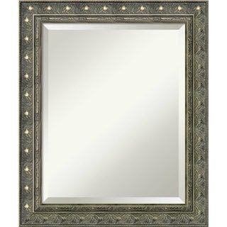 Bathroom Mirror Medium, Fits Standard 24-inch to 28-inch Cabinet, Barcelona Champagne 20 x 24-inch