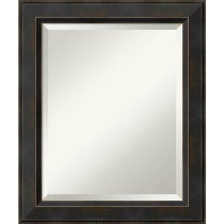 Bathroom Mirror, Signore Bronze