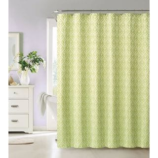 Tanya by Artistic Linen Easy To Hang Polyester Shower Curtain