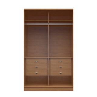 Manhattan Comfort Chelsea 6-drawer 54.33-inch Wide Wardrobe