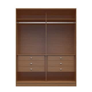 dp and wardrobe comfort ac free manhattan rods standing hanging corner amazon closet com with chelsea collection