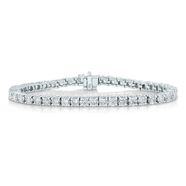 14k White Gold 2ct TDW Diamond Tennis Bracelet