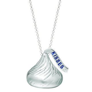 Hershey's Kisses Sterling Silver Diamond Accent Pendant|https://ak1.ostkcdn.com/images/products/12674868/P19460982.jpg?impolicy=medium