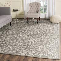 Safavieh Handmade Cedar Brook Grey / Natural Jute Rug - 6' x 9'