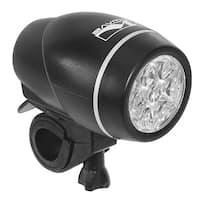 Ventura Apollo 7.4 Black Plastic Bicycle Headlight