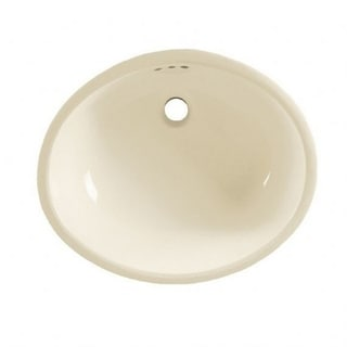 American Standard Ovalyn Linen Finish Porcelain Undermount Oval Bathroom Sink