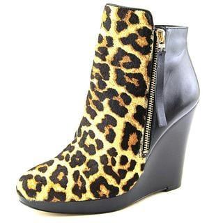 Michael Michael Kors Women's Clara Bootie Black Hair Calf Boots