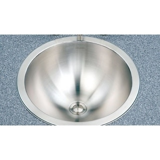 Houzer Club Houzer Opus Lavatory 18-gauge 6.25-inch Deep Stainless Steel Conical Bowl Single Sink CRT-1620-1