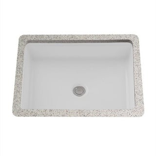 Toto Atherton Undermount Porcelain Bathroom Sink LT221#01 Cotton White