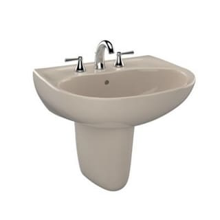 Toto Supreme Bone 1-Hole Ct Lavatory Sink