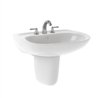Toto Prominence Cotton White Vitreous China 4-inch Center-cut Lavatory