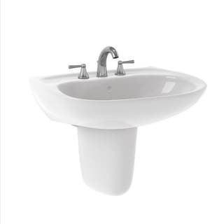 Toto Prominence Cotton White 80-inch Ctr Ct Lavatory Sink
